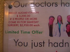 Mexican Breast Augmentation Deal
