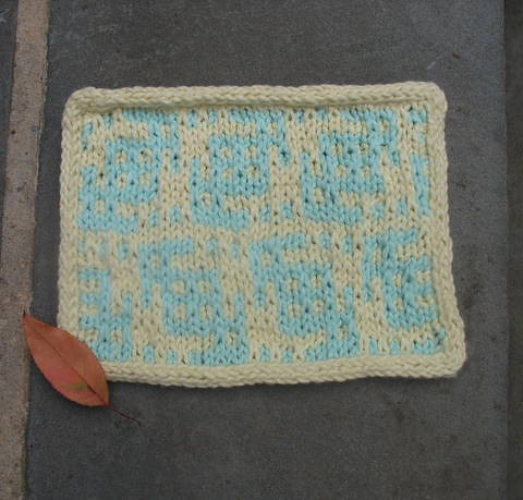 Mosaic Dishcloth