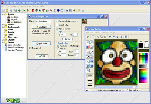 Game Maker Sprite/Image editor