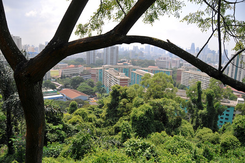 Mount Faber Park to Harbourfront MRT