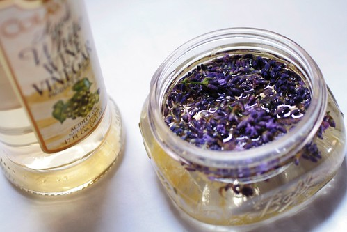 Vinegar and florets