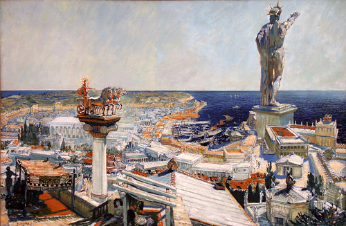 Frantisek Kupka - Colossus of Rhodos by ahisgett.