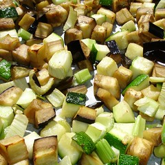 Gemüse nach dem Ofenrösten