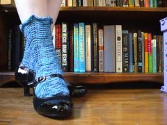 Cool Blue Ocean Waves Socks