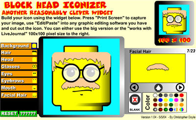 Blockhead Iconizer