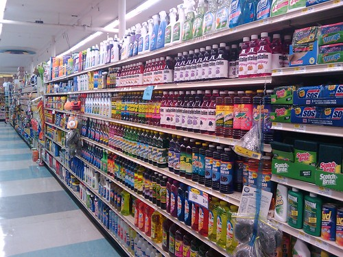 We have way too many choices of cleaning solution by baratunde.