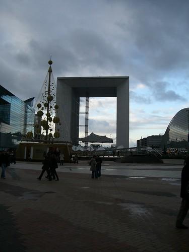 La Grande Arche at La Defense.
