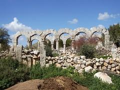 Burj Haidar village's Byzantine ruins