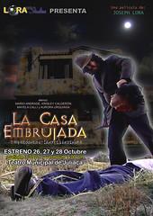 Afiche casa Embrujada