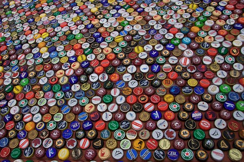 Beer Bottle Cap Assortment