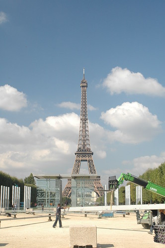 Obligatory Eiffel Tower picture.
