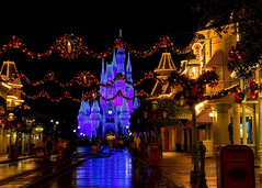 Disney - Christmas on Main Street USA (Explored)