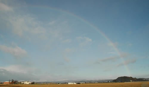 Rainbow over the Carse
