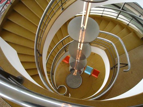 De La Warr Pavilion - Staircase