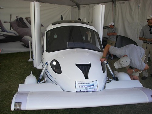fuel economic flying car
