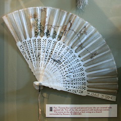 Carved Ivory Fan