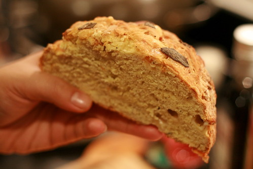 parmesan and parsnip bread © kirsten
