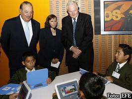 Carlos Slim e Intel donan computadoras y a nadie le interesa.