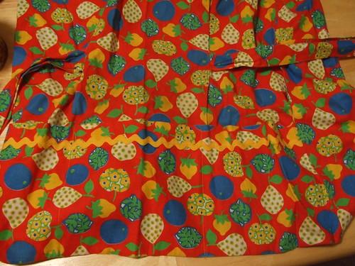 Handmade vintage cobbler apron