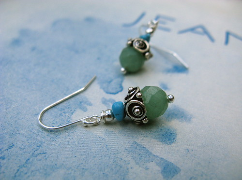 Seafoam earrings