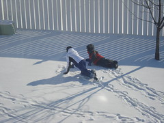 Backyard Snow Fun
