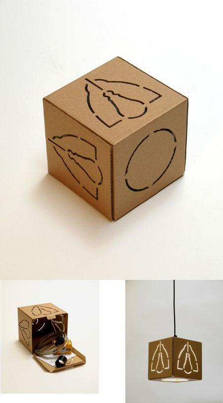 cardboardlamp
