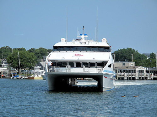Hy-Line catamaran to Nantucket