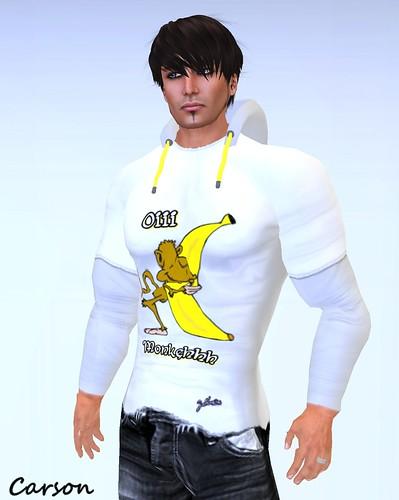 JSC - Banana Monkeh Hoodie