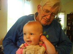 Greta and Grandpa John