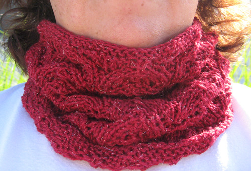Good luck cowl - should have been wearing one of these today!!