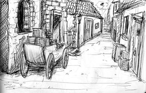 Dragonbreath Page 9 scene