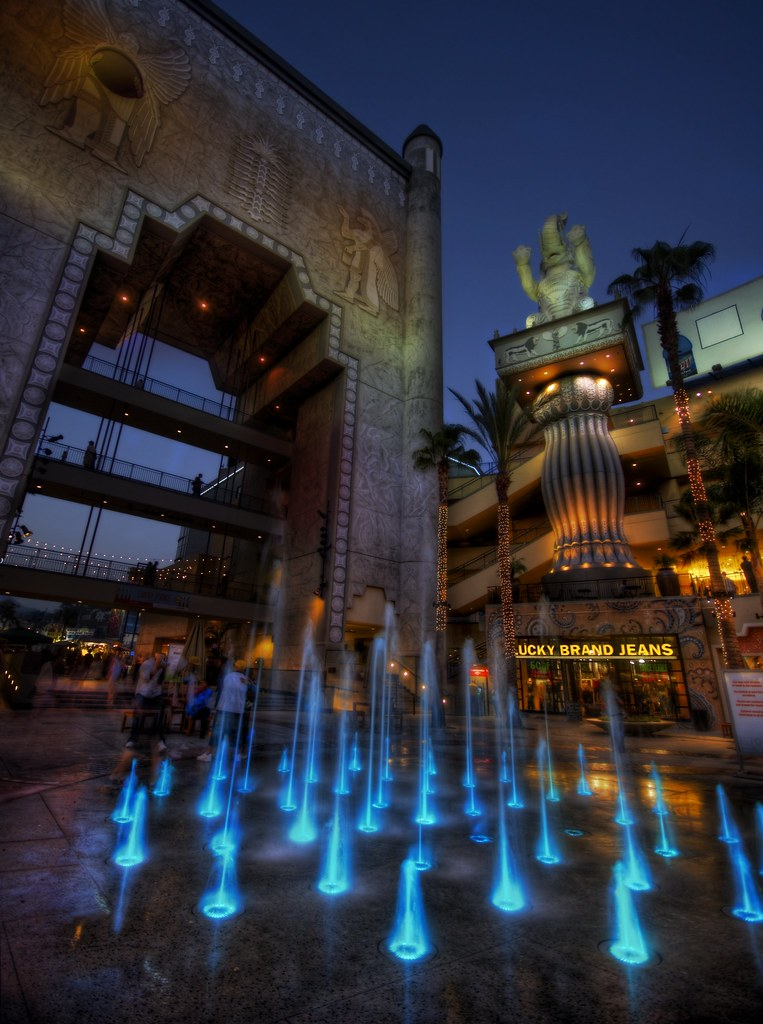 The Fountains at Hollywood and Highland