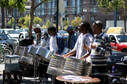 Street Band performing in San Francisco