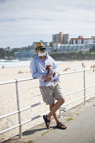 The graffiti artist - Bondi Beach