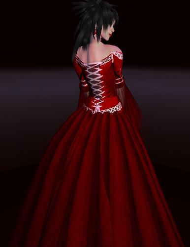 kouse's sanctum lady serenity red rose II