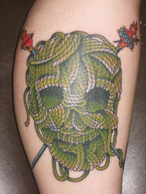 knitting tattoo