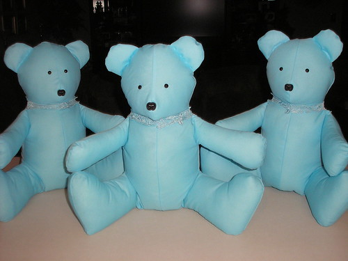 Blue Dress Bears 2 by you.