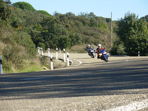Circuito de velocidad ilegal en la Sierra de Córdoba