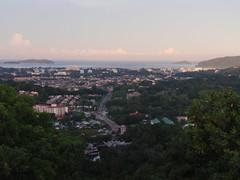 Sunrise Over Kota Kinabalu City