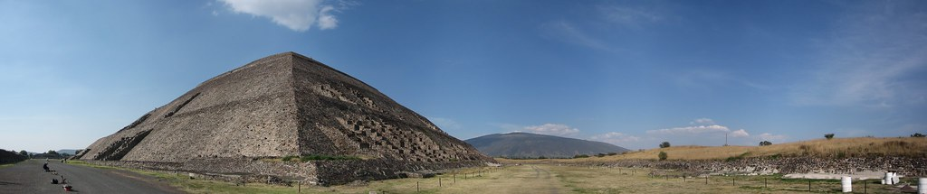 Teotihuacan panorama, Mexico City