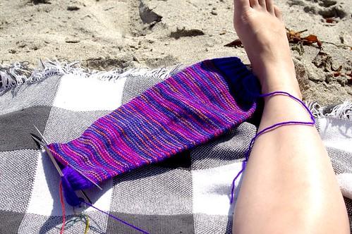 leg and sock