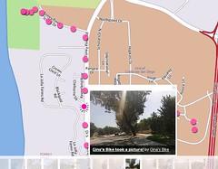 Gina's BIke Map