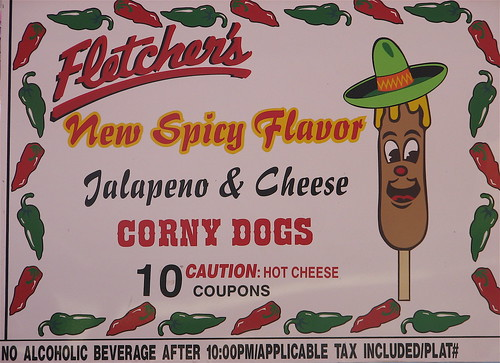 Spicy Corny Dogs by you.