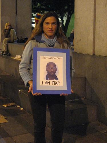 Troy Davis Vigil by javacolleen.