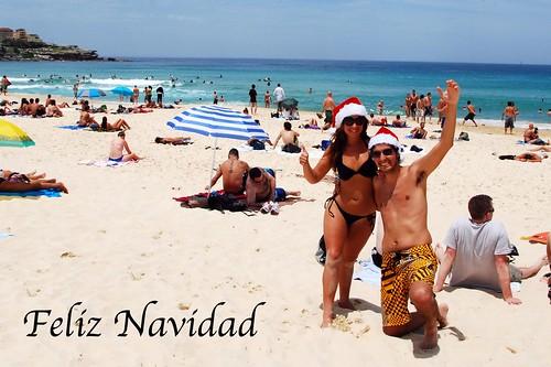 Feliz Navidad desde Bondi Beach