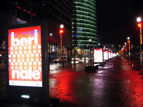 Berlinale posters at Potsdamer-Platz.