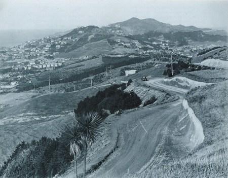 Alexandra Road, Mount Victoria, 1931.