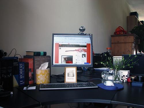 Snapshot of my desk