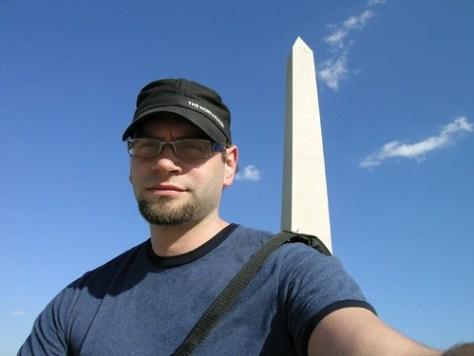 Zieak at the Washington Monument