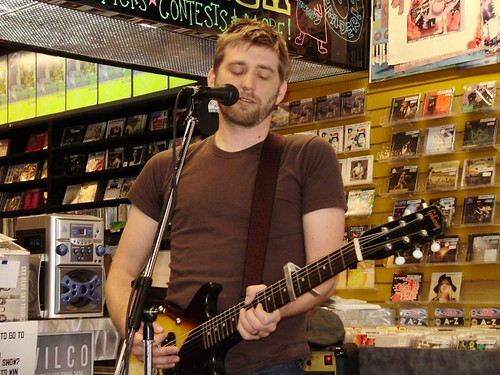John K. Samson live! in-store performance on Record Store Day at Music Trader on April 19 2008